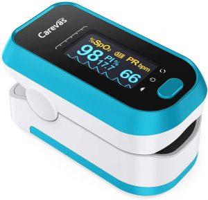 Oximetro de pulso Carevas