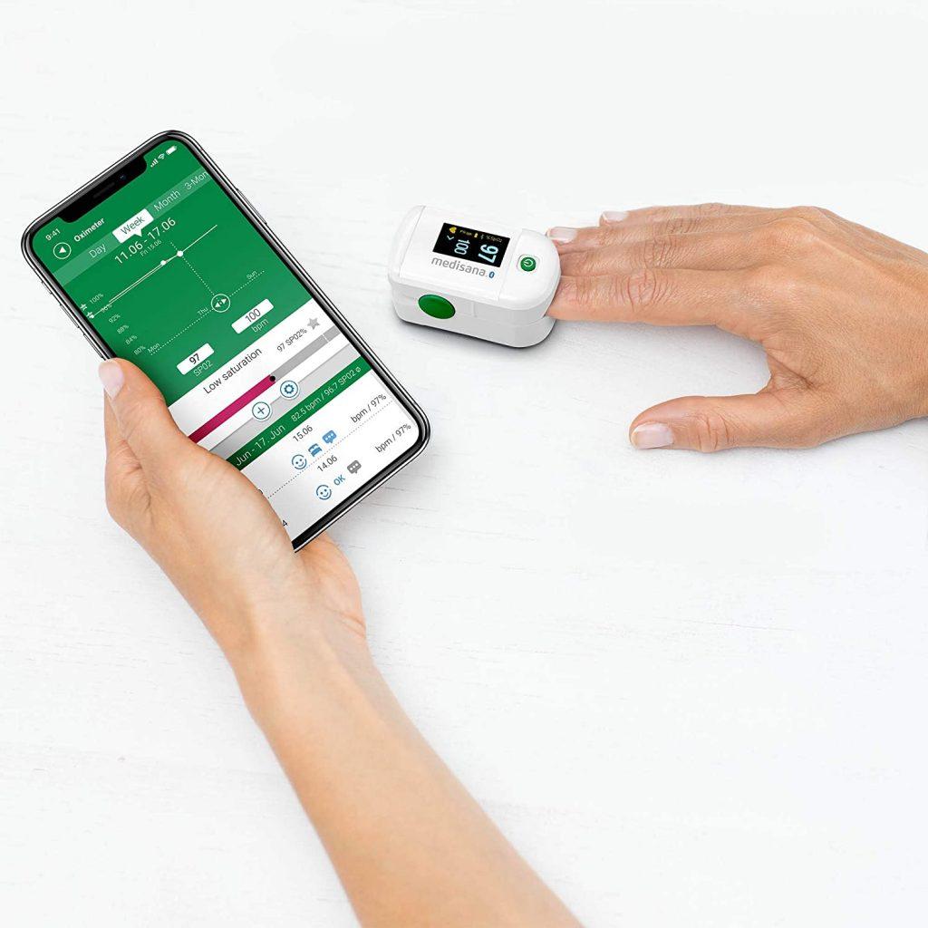 Pulsioximetro Medisana PM 100_1